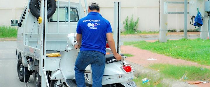 Cứu hộ, sửa chữa xe máy
