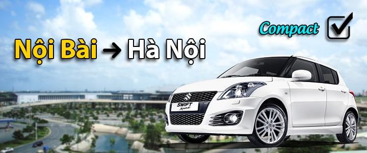 225k: Xe nhỏ, đón Nội Bài -> Hà Nội