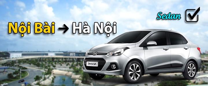 245k: Xe 5 chỗ sedan, Đón Nội Bài - Hà Nội