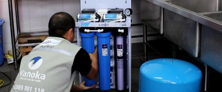 Lắp mới máy lọc nước
