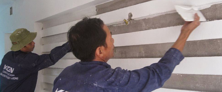 Sơn sửa, xây trát nội ngoại thất