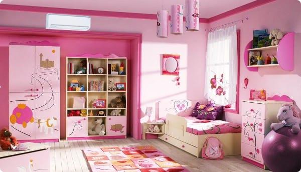 Phòng điều hòa dành cho em bé