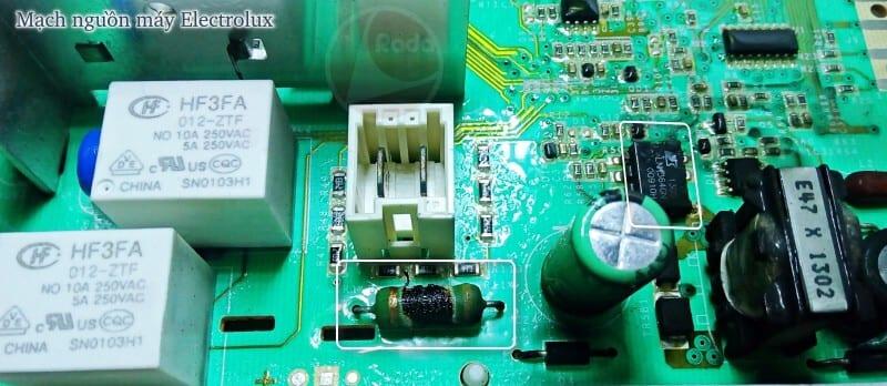 Mạch nguồn máy electrolux