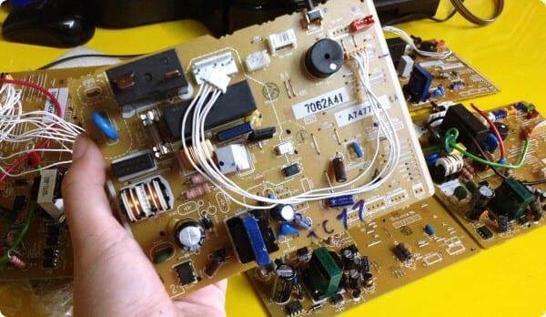 sửa chữa bo mạch điều khiển Mono