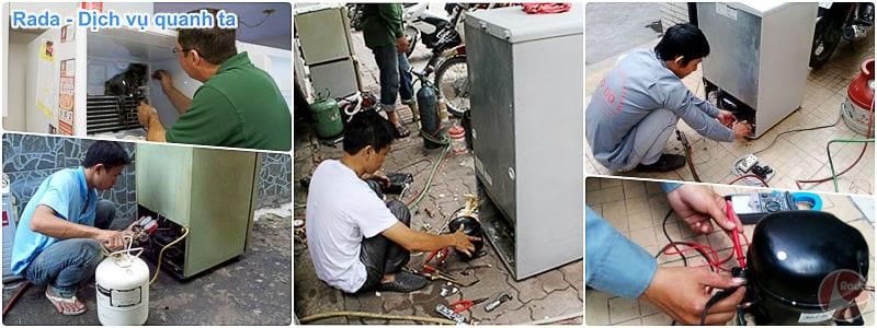 Thợ, dịch vụ sửa tủ lạnh
