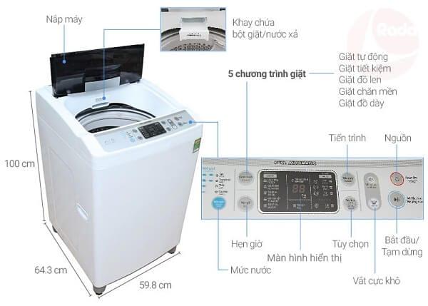 giặt sharp ES-S700EV-W