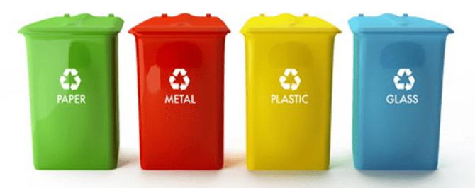 Phân loại rác thải tại nhà