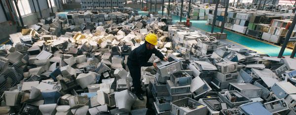 Thu gom rác thải điện tử từ Rada