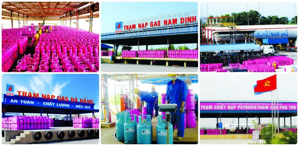 Các trạm nạp gas của PetroVietnam