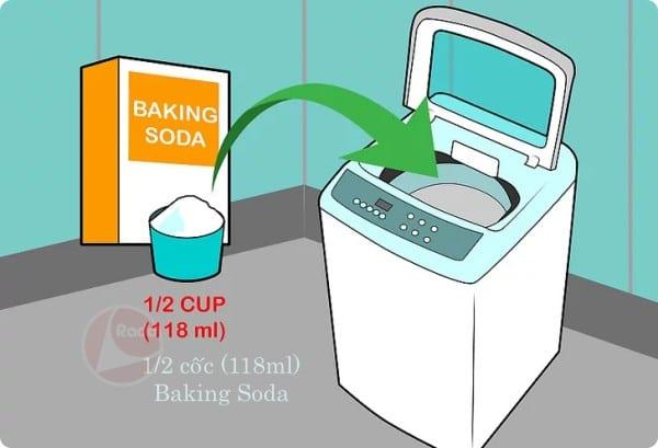 1/2 cốc baking soda
