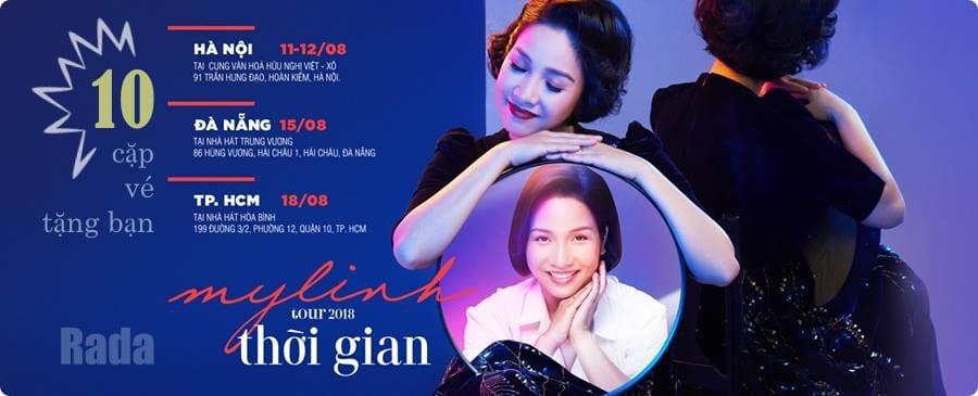Mỹ Linh Tour 2018