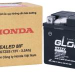 Bảng giá phụ tùng xe máy Honda: Ắc quy và linh kiện