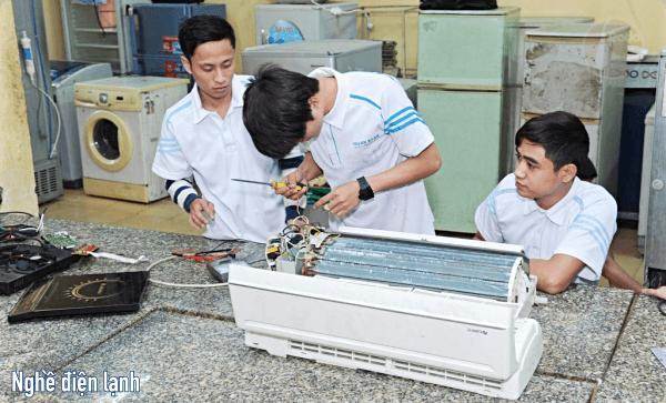 nghề Kỹ thuật điện lạnh