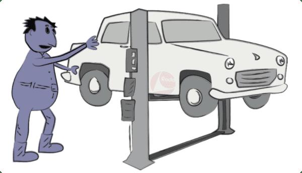 xưởng sửa chữa ô tô