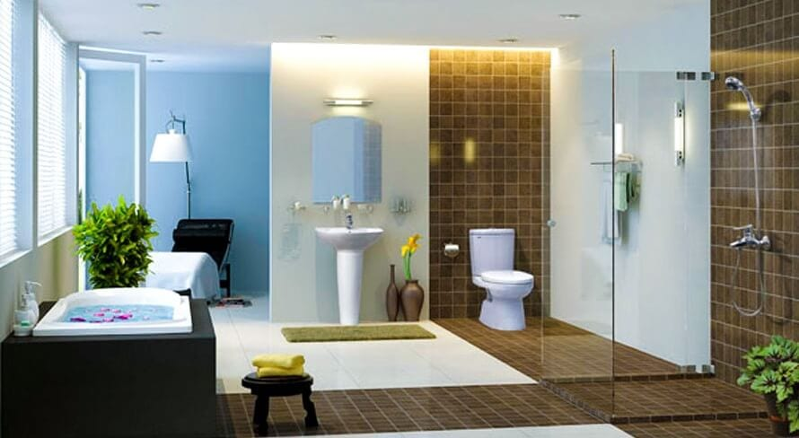 lắp đặt thiết bị vệ sinh, nhà tắm