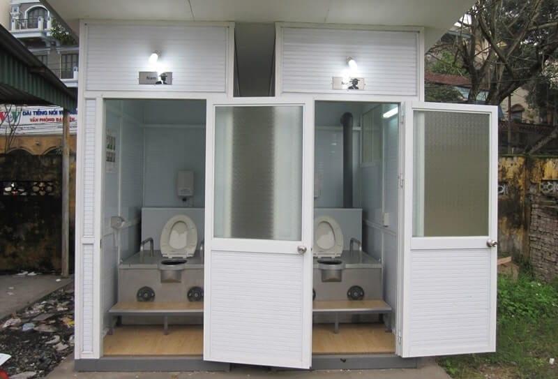 xây nhà vệ sinh tự hoại