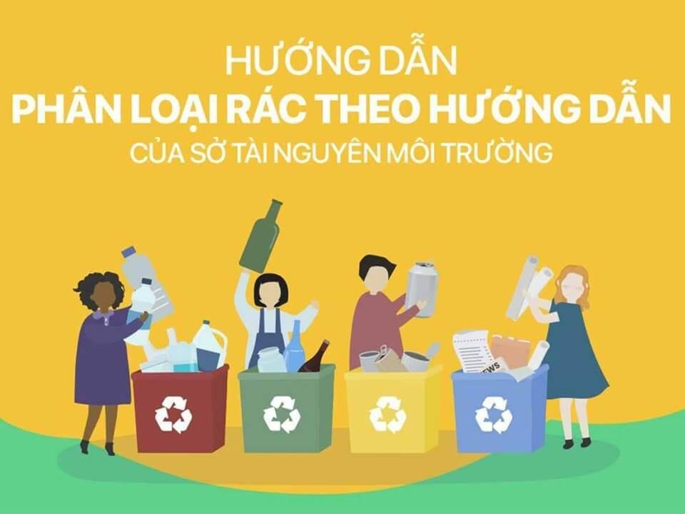 Hướng dẫn phân loại rác thải tại nhà
