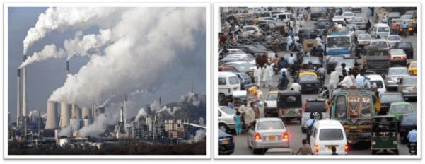 Tác nhân gây ô nhiễm không khí