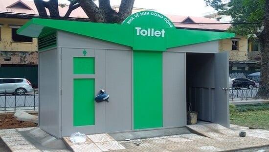 thuê nhà vệ sinh công cộng