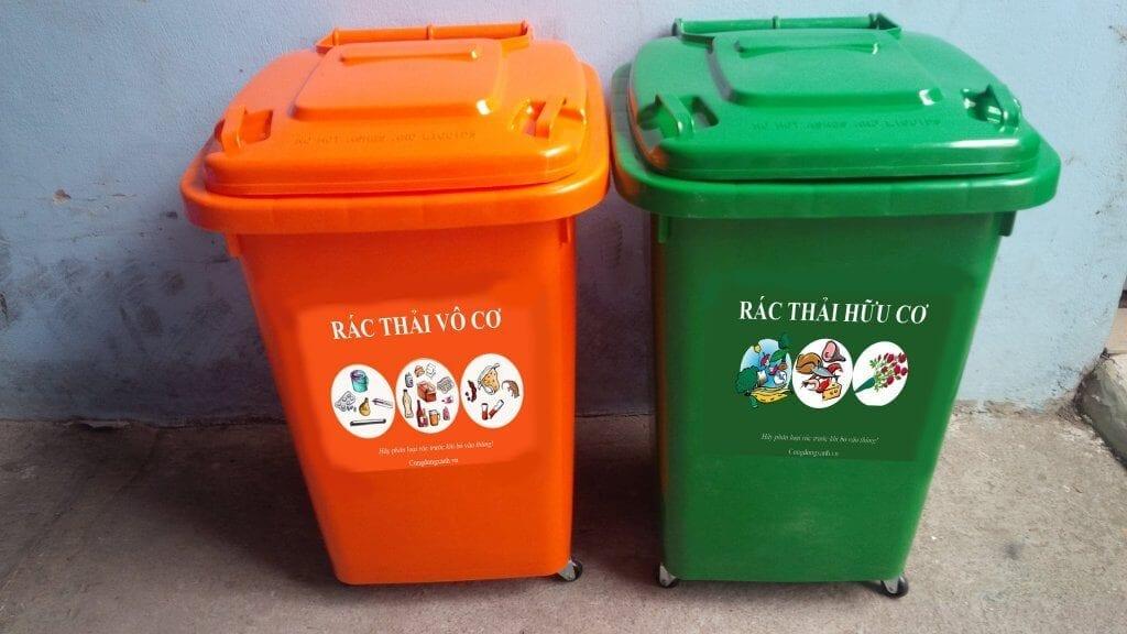 thu gom rác thải sinh hoạt - phân loại rác