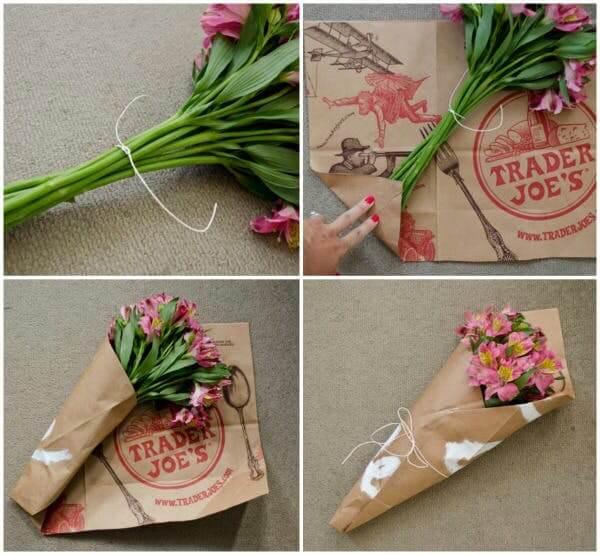 giấy gói hoa