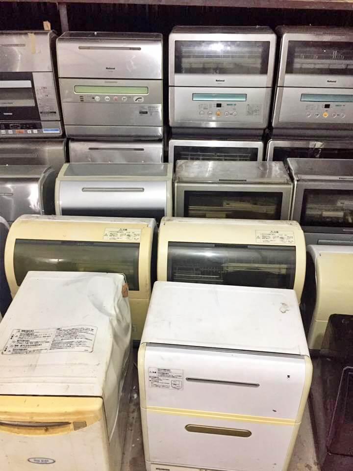 """Buôn bán máy rửa bát, tủ lạnh, máy giặt nội địa Nhật là một lựa chọn """"chống móm"""" để trụ lại với nghề"""