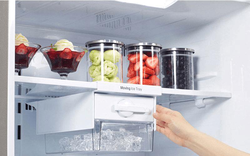Khắc phục tủ lạnh kêu - Vít bắt giàn lạnh bị lỏng