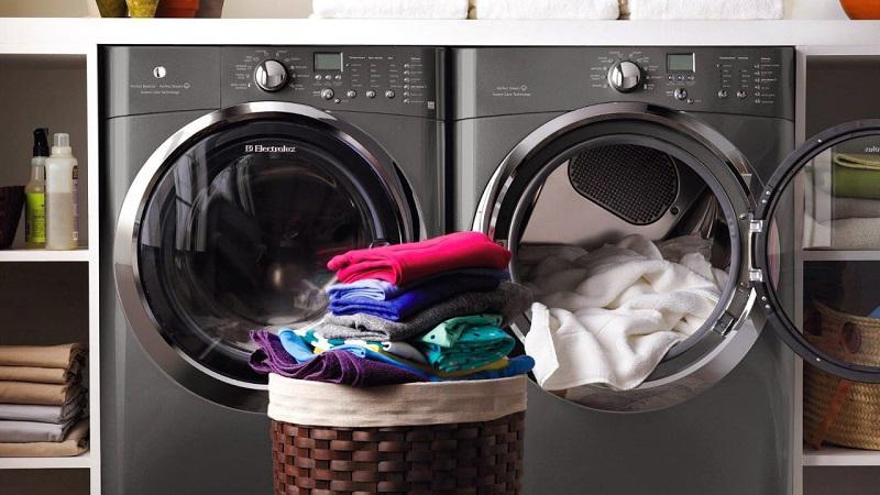 Khối lượng quần áo quá tải là nguyên nhân thường xuyên