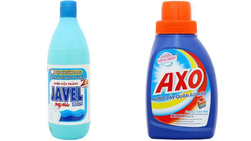 Bạn cần xác định quần áo của mình phù hợp với chất tẩy gốc Clo hay chất tẩy gốc Oxy