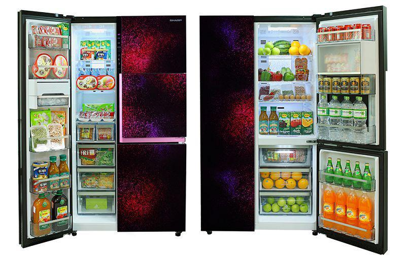 Dung tích siêu lớn, rất hữu ích trong việc phân loại và cất trữ thực phẩm
