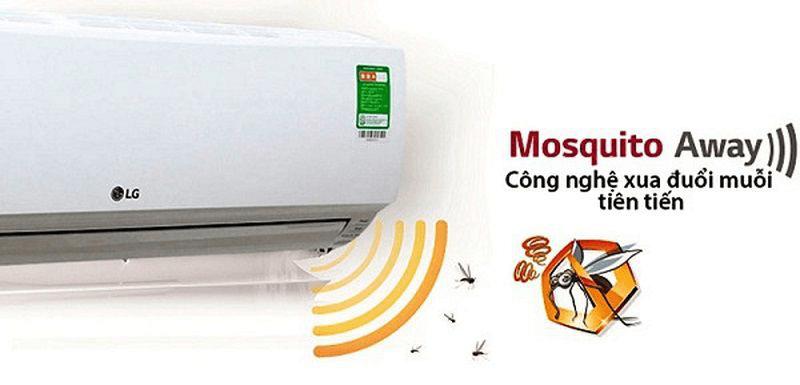 Hiện nay đã có điều hòa sử dụng công nghệ sóng âm để đuổi muỗi