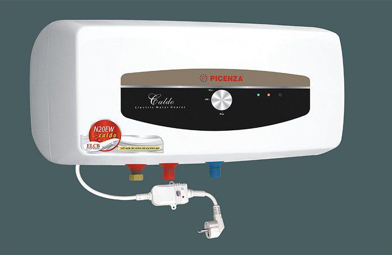 Thiết bị chống giật có thể được lắp bên ngoài hoặc bên trong của bình nóng lạnh