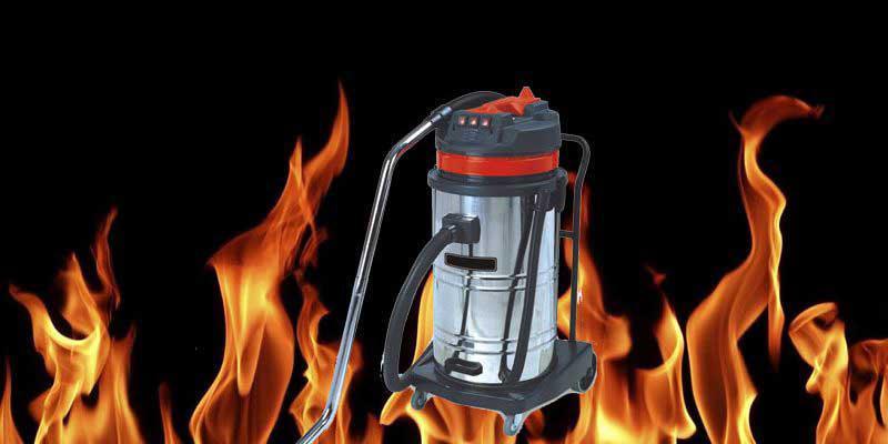 Có nhiều nguyên nhân khiến cho máy hút bụi bị nóng và dẫn đến chập cháy