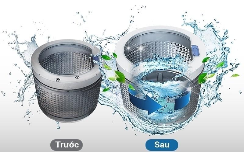 Lưới lọc và lồng giặt bị bẩn cũng khiến cho nước cấp vào yếu
