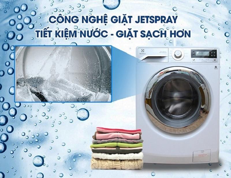 Nhiều công nghệ giặt mới ra đời nhầm tiết kiệm điện nước