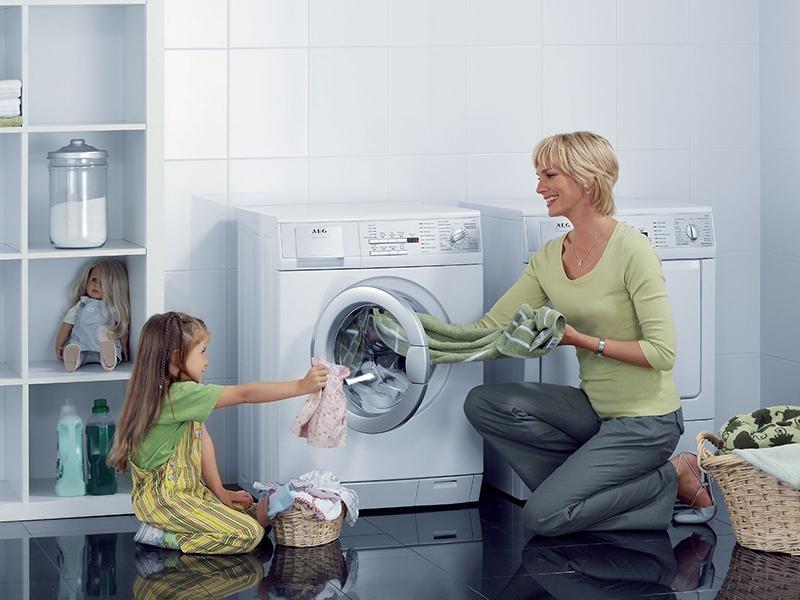 Máy giặt gia đình bạn tốn bao nhiêu nước một lần giặt