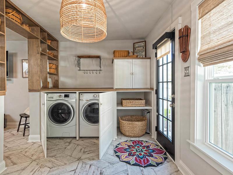 Máy giặt cửa trước có nhiều ưu điểm