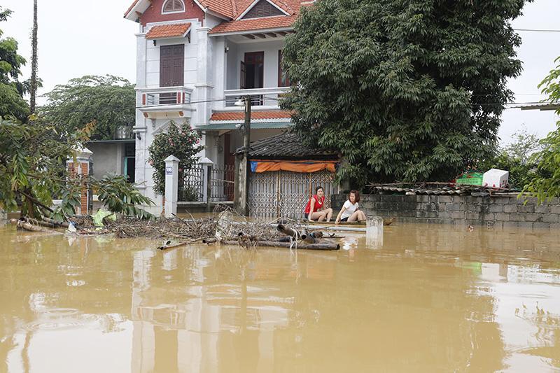 Nên có biện pháp xử lý kịp thời tình trạng ngập lụt này