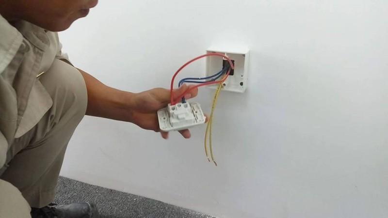 Đi dây điện âm tường phải đúng kĩ thuật