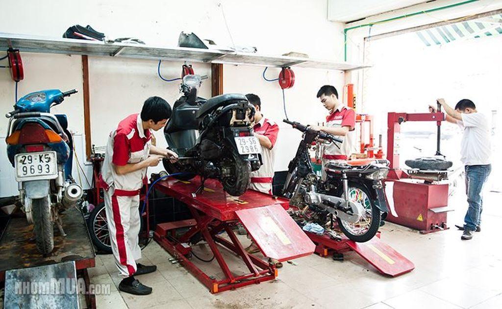Bảo dưỡng xe Honda