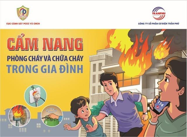 Vật dụng cần thiết phòng cháy cho hộ gia đình