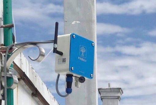 Thiết bị giám sát chất lượng không khí ngoài trời