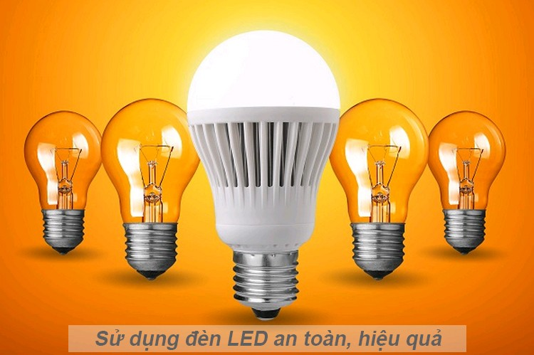 Hiệu quả kinh tế sử dụng đèn LED