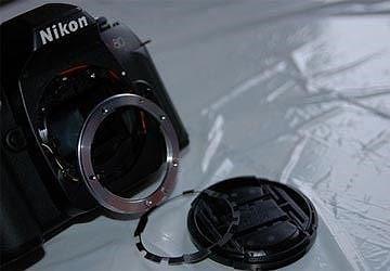 máy ảnh bị ngấm nước