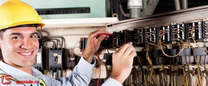 Đặt thợ điện